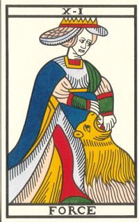 Tarot de Jean Noblet, XI Force, JC Flornoy restauration