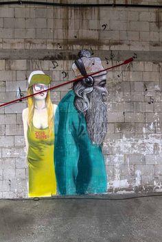 "Mr. Trash for ""OCB - Street Art Attack"" in Cologne by Street Art Berlin (BLN)"