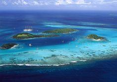 Tobago Cays, Grenadines islands, Carribean islands