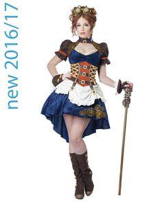 Steampunk Fantasy Womens Costume