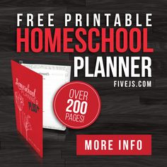 Over 200 pages of printable planners organized into a convenient and easy-to-use PDF format.