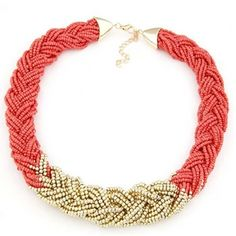 Chunky necklace Bohemia new style beads decoration clavicle chain SX-801-009