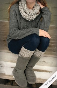 Different boots (ugh, Uggs) and this outfit is perfect.