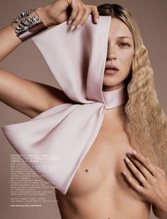 Kate Moss by Daniele & Iango for Pre-Spring Issue of i-D Magazine - 2013