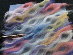 undulating curves in fiber