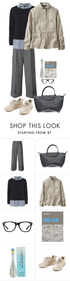 """Sin título #1696"" by mussedechocolate ❤ liked on Polyvore featuring 3.1 Phillip Lim, Longchamp, Dorothy Perkins, Uniqlo, Palomar and Laura Biagiotti"