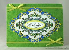 Thank You card designed by Cyndie