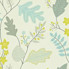 Lacarno Wallpaper by Harlequin 110299 is a dramatic and refreshing leaf and berry trail. Colour:- Linen, Stone, Sky, Zest Wallpaper type:- Non-woven W x L Vertical Pattern Repeat (cm):- 52 cm Match:- Half Drop