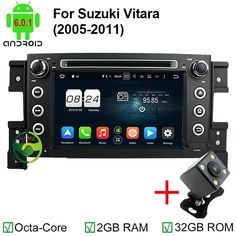 2GB RAM Octa Core Android 6.0.1 Car DVD GPS For SUZUKI Grand Vitara Grand Nomade 2006 2007 2008 2009 2010 2011 Car Video player
