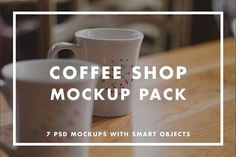 Coffee Shop Mockup Pack by Jacob Waites on @creativemarket