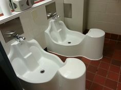The installation of some specialized sinks at the University of Regina is welcomed accommodation for Muslim students. Sink Faucets, Sinks, Bath Tiles, False Ceiling Design, Prayer Room, Architect House, Great Rooms, Muslim, House Plans