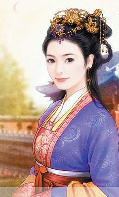 Chinese painting of beautiful woman 3d Fantasy, Fantasy Girl, Ancient Beauty, Ancient Art, Beautiful Chinese Women, Asian Artwork, Beautiful Fantasy Art, Painting Of Girl, China Art