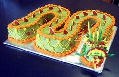 Chinese Dragon birthday cake. For Andi Sullivan :D