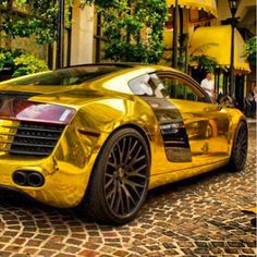 Gold R8 Hot or Not?