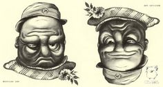 Rex Whistler, Upside Down Faces