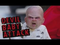 Devil Baby Attack: Evil baby prank terrifies innocent people in New York - YouTube