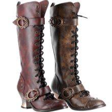 Alexandra Steampunk Boots §