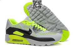 #Air #Max 90 Ultra BR Mens Shoe Cool Grey / Black / Volt#SOLETOPIA The Best Source for Fashion