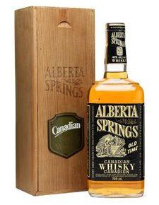 Alberta Springs Canadian Whisky