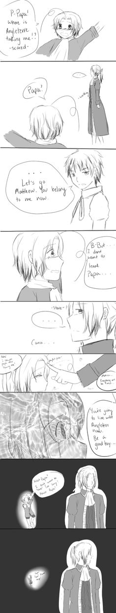 This Memory by Sukima-chan.deviantart.com on @deviantART - Arthur didn't take Matthew in the Seven Years War; Francis gave him away.