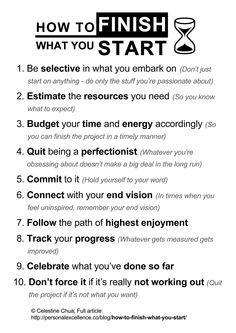 How To Finish What You Start Manifesto https://twitter.com/NeilVenketramen