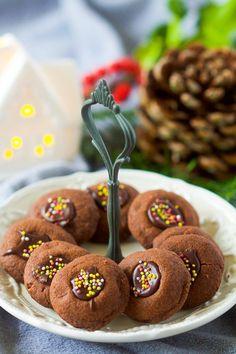 """Un """"Flo"""" de bonnes choses » {Bredele 2015} Sablés ronds au chocolat"""
