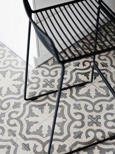 Carreaux de ciment (Ann-Marin & Mika's Home, via MrsJones)