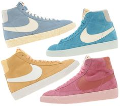 Pastel kicks for spring? Yes please!
