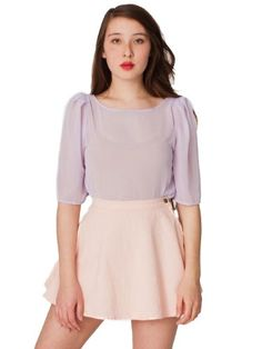 the puff sleeve blouse is perfect, i just want it in beigey pink