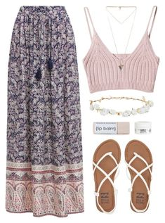 """Summer Date"" by amazing-abby ❤ liked on Polyvore featuring Billabong, Givenchy, Design Lab and Kiehl's"
