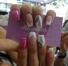 Get Nails, Hair And Nails, White Tip Nails, Nail Decorations, Nail Arts, Manicure And Pedicure, Beauty Nails, Nail Designs, Make Up