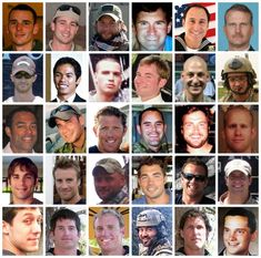 Islamic Cleric Cursed US Heroes at Their Funeral-- Obama Administration complicit. This combo shows the 30 troops killed in a helicopter downing in Afghanistan on Saturday, Aug. The Pentagon on Thursday, Aug. 2011 identified the Americans Air Force Special Operations, Seal Team 6, Naval Special Warfare, Presidente Obama, Us Navy Seals, Fallen Heroes, Fallen Soldiers, Real Hero, God Bless America