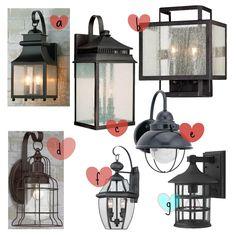 Choosing outdoor lighting! SALTED Design Studio @salteddesignstudio on Instagram