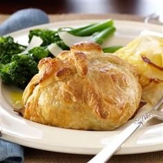 Classic Beef Wellingtons Recipe -Perfect for holidays, this entree is also impressively easy. Find ready-made puff pastry sheets in the frozen food section. —Kerry Dingwall, Ponte Vedra, Florida