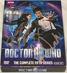 Doctor Who DVD signed by boushh2187