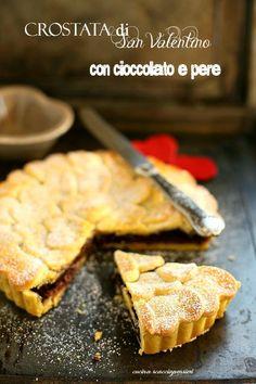 Cucina Scacciapensieri: Crostata con cioccolato e pere
