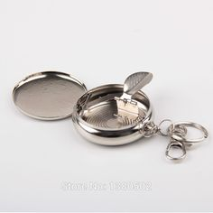 Find More Ashtrays Information about Wholesale Mini Portable Cigarrete  Ash Tray Small  Pocket Ashtray For Car  Metal Decoration Craft Cinzeiro,High Quality accessories cuff,China metal accessories Suppliers, Cheap metal door accessories from NoYin fashion store  on Aliexpress.com