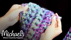 Looking for a simple finger crochet project? Find out to crochet this stylish scarf in about two hours with just two skeins of yarn, a pair of scissors and y...