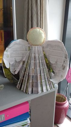My first paper angel