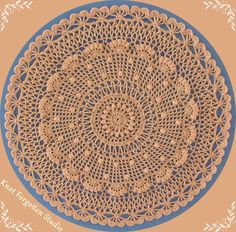 Doily for the 21rst Century~ Finished July, 2016.  https://www.pinterest.com/KnotForgottenSt/knot-forgotten-studio/                                                      This is a free pattern created by Sonea Delvon. The pattern can be found on Ravelry using this link: http://www.ravelry.com/patterns/library/doily-21st-century