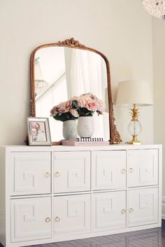 IKEA Hacks For The Bedroom - Glam Up The IKEA Kallax Unit - Best IKEA Furniture Hack Ideas for Bed, Storage, Nightstnad, Closet System and Storage, Dresser, Vanity, Wall Art and Kids Rooms - Easy and Cheap DIY Projects for Affordable Room and Home Decor http://diyjoy.com/ikea-hacks-bedroom