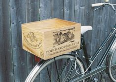 Decorating with Old Crates | ... will support you upcycle those old wine crates of yours, in style