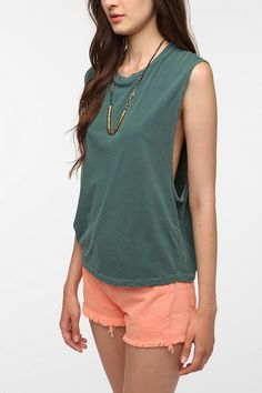 Truly Madly Deeply Show Some Muscle Tank  #UrbanOutfitters