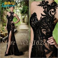 Cheap robe de soiree, Buy Quality mermaid evening dress directly from China evening dress Suppliers: Sexy Stunning Black Beaded Lace Mermaid Evening Dresses Split Side Party Gowns Robe De Soiree A Line Prom Dresses, Mermaid Evening Dresses, Black Wedding Dresses, Prom Party Dresses, Party Gowns, Elegant Dresses, Pretty Dresses, Formal Dresses, Lace Dresses