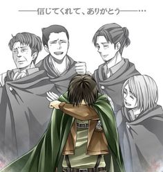 Don't cry levi you still have Eren.<<<no, CRY LEVI YOU NEED TO SHOW FEELINGS