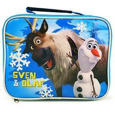 Disney Frozen Sven & Olaf Lunch Bag @ niftywarehouse.com #NiftyWarehouse #Frozen #FrozenMovie #Animated #Movies #Kids