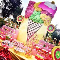 Icecream Birthday Party