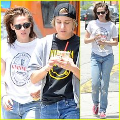 Kristen Stewart & Alicia Cargile Start Weekend Together in Silverlake
