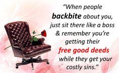 "وَيْلٌ لِّكُلِّ هُمَزَةٍ لُّمَزَةٍ"" Woe to every slanderer and back-biter!"" (Surah Al-Humazah, 104: 1) Allah has said: ""And spy not, neither backbite against one another. Would any of you like to eat the flesh of his dead brother? You would hate it (so hate backbiting). And fear Allah. Verily Allah is the One Who accepts repentance, Most Merciful."" (49:12) ""And follow not that of which you have no knowledge. Verily! The hearing, and the sight, and the heart of each of those ones will be…"