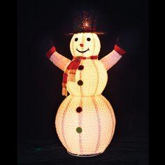 Gerson Swirl Design Snowman Outdoor Lantern - 7031680